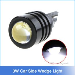 Wholesale 3W High Power T10 W5W White SMD LED Car Side Wedge Light Reading Lamp tail lights