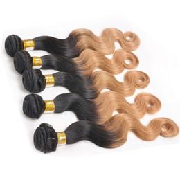 Brazilian Ombre Virgin Hair 2 Tone 1b 27 Brazilian Hair Bundles Body Wave Ombre Weave Hair