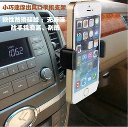 Wholesale iphone6 plus Car kenu bracket Kenu Airframe Car Air Vent Mount Samsung GPS holder suporte para celular carro to Inch Universal