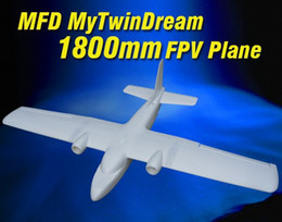 Wholesale New MyTwinDream mm FPV EPO RC Airplane Remote Control Electric Powered Glider UAV Model Plane Radio Remote Control Toy MFD