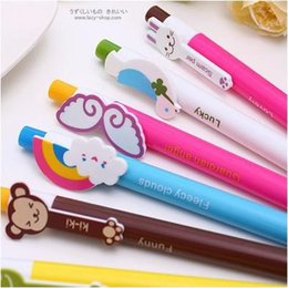 Wholesale kawaii office stationery ball point pen for student cartoon animal ballpoint pens stationery products supplier ARC218