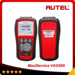 2015 Top selling Autel MaxiService VAG505 For VW AD SKODA SEAT Scan Tool 100% original Free shipping