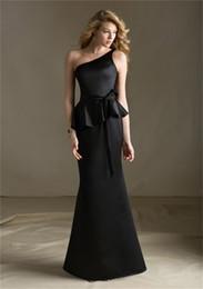 Платья атласные черные купить