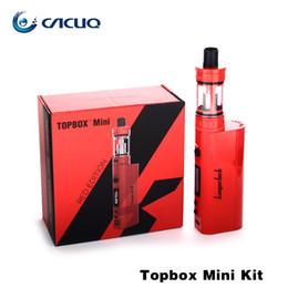 kangertech electronic cigarettes original kanger topbox mini starter kit KBOX Mini TC Mod 75W TOPTANK Mini 4ml E Cig Atomizer