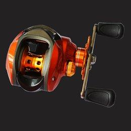 Wholesale Fishing Reel Lure Reel BB Orange shaft Aurora droplets special centrifugal brake wheel wheel left and right hand carretilha