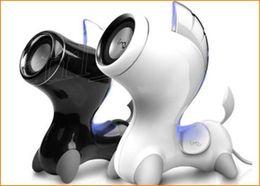 Wholesale I mu Mini Potablet Speaker Horse Stereo Modelling Subwoofer Speaker Loudspeaker Computer Tablet PC Mobile Phone MP3 MP4 USB