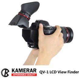 Wholesale AUTHENTIC KAMERAR QV LCD VIEWFINDER VIEW FINDER FOR CANON D MarK III II D D D D f Nikon D800 D800E D610 D600 D7200 D90