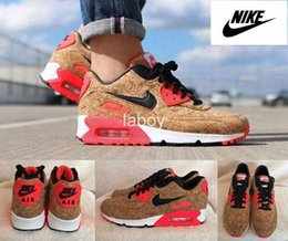 Discount Shoes Run Air Max Nike Air Max 90 Anniversary Pack Cork Bronze Black Infrared Running Shoes For Men Women, Brand Airmax Athletic Sneakers Trainers Eur 36-46