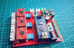 Wholesale 2015 The new enhanced version of diy miniature axis stepper motor drive controller board laser engraving machine