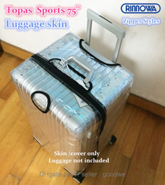 Wholesale New Clear Protective Skin Cover Protector for rimowa Topas Sprots Luggage Protective Covers Best Luggage Cover Waterproof Travel Luggage