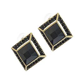 Diamond Square Earrings stud earrings jewelry charm earring cheap earring free shipping