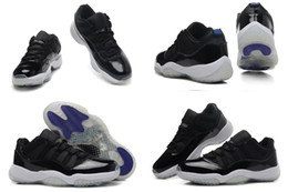 With Box) Free Shipping Wholesale New Model Retro 11 XI Low Space Jams Concord DS Women Basketball Sport Sneakers Trainers Shoes