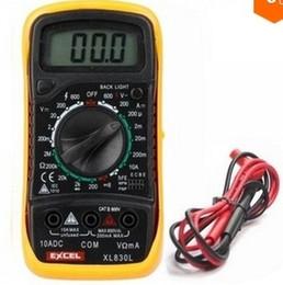 Wholesale New Digital LCD Multimeter Voltmeter Ammeter Ohmmeter OHM VOLT Tester XL L