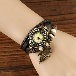 Wholesale Special Treatment paragraph seven days no reason to return Ms retro fashion knit angel really belt watch Z