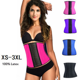 Wholesale XS XL Colors Women Rubber Waist Training Cincher Waist Training Belt Kim Waist Training Belt Underbust Corset Body Shaper Shapewear