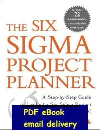 Wholesale The Six Sigma Project Planner DMAIC Project management