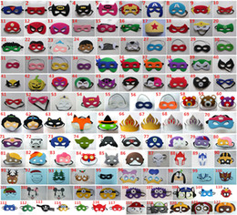 Wholesale 122 styles Superman Mask Eye Shade for Superman Cape Halloween Mask for Children Cosplay Eye Mask Party Masquerade Masks Performance Mask