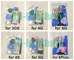 Wholesale 10 in Repair Pry Opening Tools Kit With Point Star Pentalobe Eject Pin Key For APPLE iPhone5 s c G Plus s Gs sets