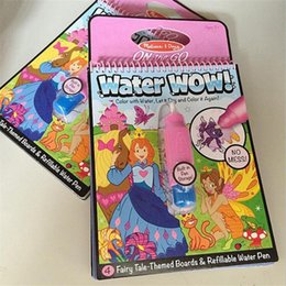 Wholesale Mixed colour Water Water Melissa Doug On The Go Amazing Graffiti Children s Sketchpad Album Baby Toys