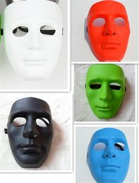 200pcs new 5 designs full face masks Halloween Masks Jabbawockeez mask festive party masquerade masks women men masquerade masks D385