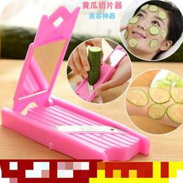 Wholesale Affordable Cucumber Slices Kitchen Tools Pink Knife Convenient Utencilios De Cozinha Good Quality On Sale New Arrivals