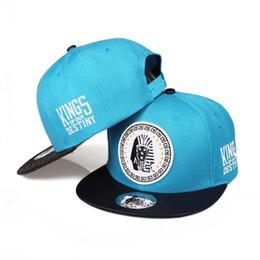 Los sombreros de los hombres en Línea-¡¡¡CALIENTE!!! 20 Estilo de pasada de los reyes Snapback Caps Hip Hop Cap LK Sombrero sombreros de béisbol para los hombres Gorra Huesos Huesos Gorras cartón de embalaje