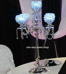 Wedding Crystal Globe Candelabra Centerpieces ,Wedding Decoration