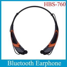 LG HBS-760 Bluetooth Headsets Wireless Sports Headphone Neckband Handsfree Earphone For Cell Phone Samsung VS HBS 800 EAR005
