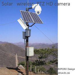 Wholesale solar ip camera system FULL HD P Hikvision PTZ Camera x optical zoom Wireless Camera digital zoom Security cctv