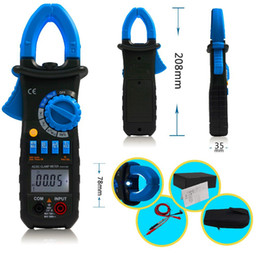 Wholesale AIMO ACM03 Auto Range Digital Clamp Meter Multimeter AC DC Current Voltage Hz Frequency Capacitance Tester