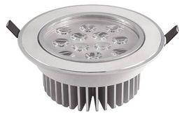 MOQ10 9W 12W LED Downlights Ceiling Lamps AC85-265V Spotlight Bulb Bright Recessed Panel Lighting Lamp Quality Heat Sink CE ROSH Via Express