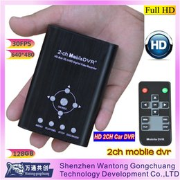 Wholesale 2 CH mobile dvr for family survellance supports Record full stop or auto coverage ach camera less than MA