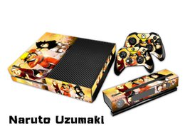 Naruto Uzumaki 0087 Fashion Skin Decal For Xbox one Console and 2PCS Xbox one Controller Skins Stickers
