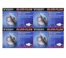 Wholesale HSP N3 N4 Alloy Glow Model Plug Igniter Engines Glow Plugs RC Car Parts