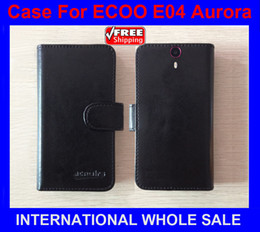 Wholesale High Quality New Original phone case ECOO E04 Aurora Leather Case Flip Cover for ECOO E04 Aurora Case tracking number