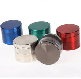 Sharpstone Grinders Herb Tobacco Smoking Quadruple Metal Zinc Alloy Grinders For Tobacco Mixed Size 40mm 50mm 55mm 63mm 75mm 6 Colors