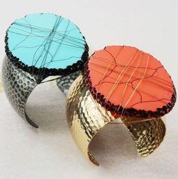 Wholesale 2014 new European style jewelry exaggerated fashion beauty big fan Bangles