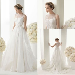 A-Line White or Ivory Wedding Dress Bridal Gown Us Size : 4 6 8 10 12 14 16 18 20 +++++