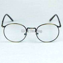 New Nerd Metal Optical Frame Retro Stylish Eyeglasses Frame Unisex Design 3 Colors With Clear Lenses