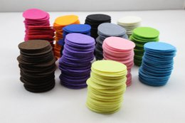 Each size oval felt pad for fabric flower ,mixed color felt circle pad Applique for Sewing Work DIY jewelry accessories 1000pcs carton
