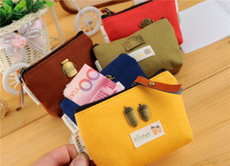 Cute little universe coin wallet restoring ancient ways ms canvas art change purse key bag for lady