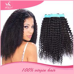 Peruvian Virgin Hair Deep Wave Curly Unprocessed Brazilian Cambodian Eurasian Mongolian Malaysian Indian Human Hair Weave Bundles Can Be Dye
