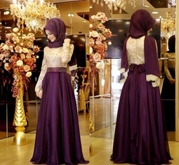 Winter Arabic South African Evening Dresses Long Sleeves Floor Length High Neck Traditional Formal Dresses Free Shipping