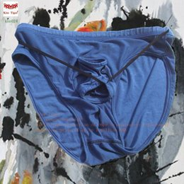 Wholesale Kisstiger comfortable modal male health penis separation vent modal according to the waist to hip height ordering wine red orange blue