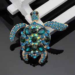 Wholesale Europe America Japan and Korea boutique selling turtle brooch pin brooch small commodity jewelry