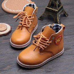 New Arrival Spring 2015 Children Martin boots Kids Ankle boots Boys Girls shoes Rain boots Patent leather Snow boots 59