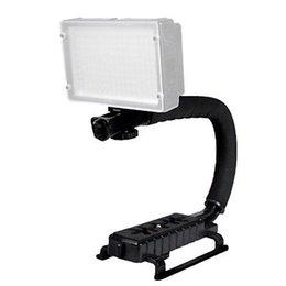 Wholesale-Professional Camera Camcorder Padded C Stabilizing Handle Bracket with Hot Shoe