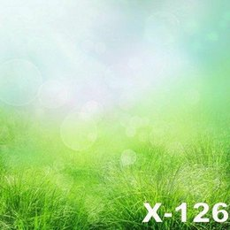 125X150cm grass ground scenic photography backdrop for photos muslin computer printed digital cloth photography background senior backdrops