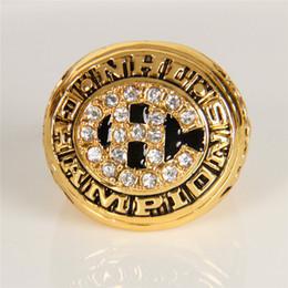Wholesale 1977 NHL Eishockey Montreal Canadiens Zink legierung Karat gold überzogene Kundenspezifische Sport Replik Fans World Championship Ring