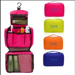 Casual Hanging Waterproof Travel Toiletry Wash Makeup Storage Cosmetic Organizer makeup Bag